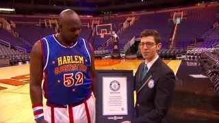 Farthest Basketball Hook Shot- Guinness World Records