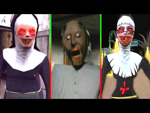 The Nun Vs Granny Vs Evil Nun