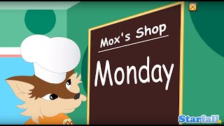 Today is Monday a Starfall Movie from Starfall com