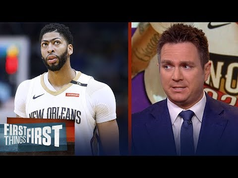 Chris Mannix believes Anthony Davis is going to end up with the Celtics | NBA | FIRST THINGS FIRST
