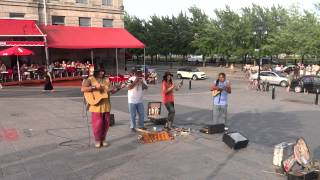 Trip round the world-2012. Canada: Montreal. Indian musicians