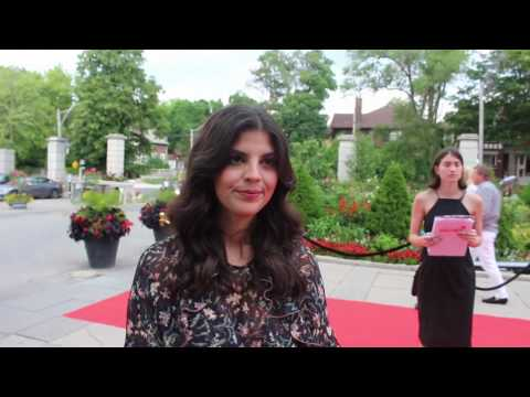 """Chat w Nikki Yanofsky at at Canada's Walk Of Fame """"Music Under The Stars"""" Fundraiser"""