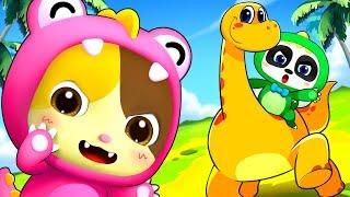我的恐龍朋友 | 最新恐龍兒歌童謠 | 腕龍卡通動畫 | 動物兒歌 | 寶寶巴士 | 奇奇 | BabyBus