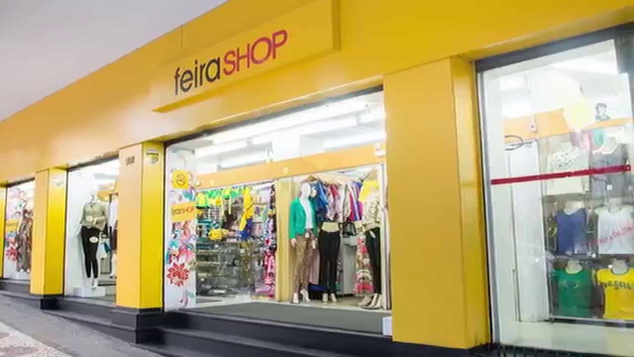 0b285a9c8 Conheça a Feira Shop! - YouTube