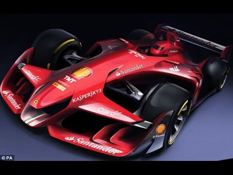 Formula One Cars of the Future... Ferrari Release Images of Radical Concept Design...