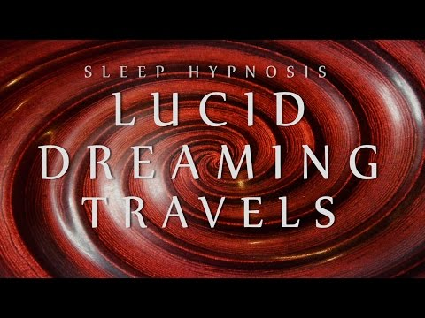 Sleep Hypnosis for Lucid Dreaming Travels Spoken Voice Relaxation Sleep  Meditation