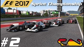F1 2017: Classic Cars Sprint Championship (Reverse Grid Race) - Race 2 - Spain