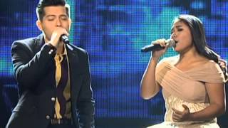 "Jason Dy, Alisah Bonaobra in ""Just Give Me A Reason"" duet"