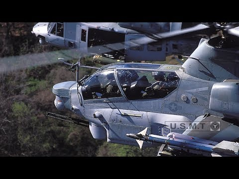 Watch This Crazy Video: The Most Powerful In Action Helicopter- Bell AH-1Z