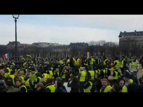 Thousands Of Police On Guard As Yellow Vests Hit Streets In France For 10th Week In A Row