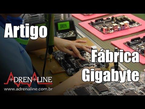 Veja como é feita uma placa-mãe, direto da fábrica da Gigabyte em Taiwan