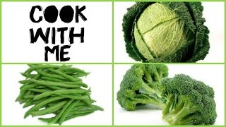 HEALTHY GREEN VEGETABLE SOUP WITH BUTTER BEANS & QUINOA  COOK WITH ME