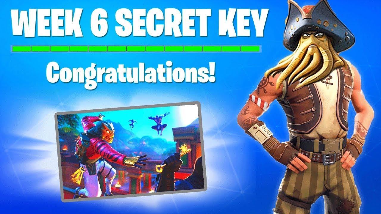 Week 6 Secret Key Wallpaper Location Discovery Skin All Keys