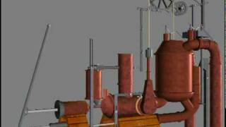 First Internal Combustion Engine - Invention - Pyréolophore