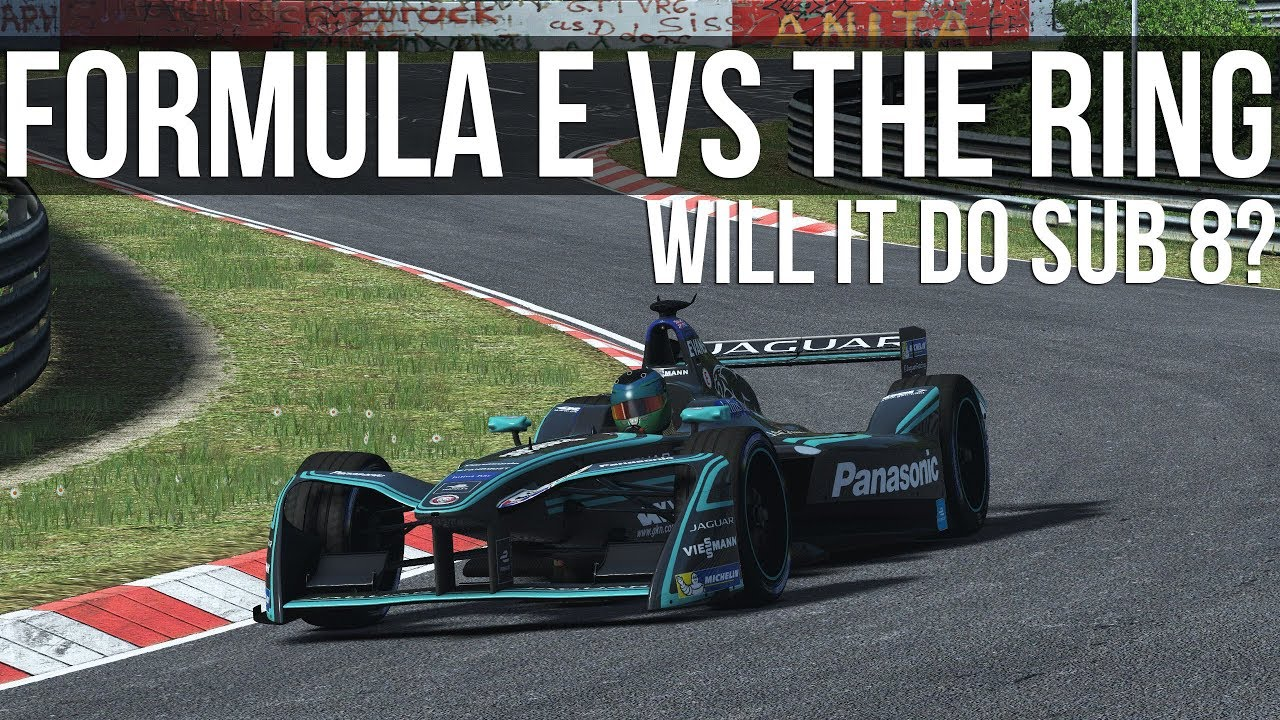 How Fast Can A Formula E Car Lap The Nordschleife