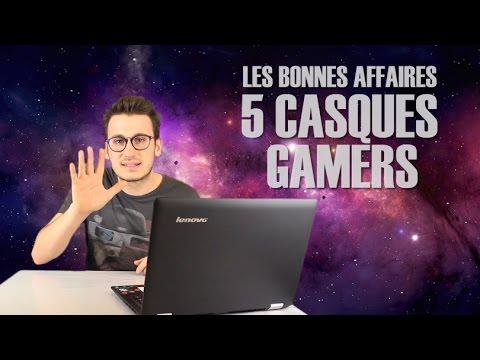 LES BONNES AFFAIRES - 5 CASQUES A MOINS DE 50€