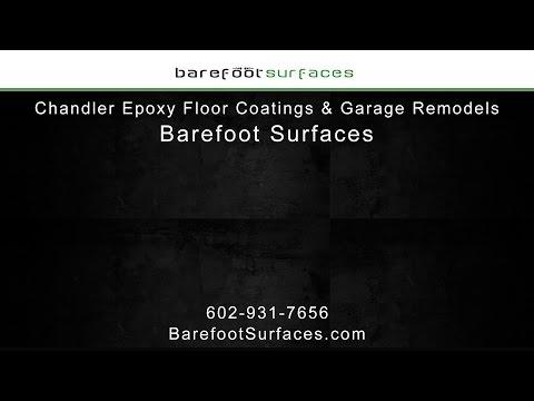 Chandler Epoxy Floor Coatings & Garage Remodels | Barefoot Surfaces