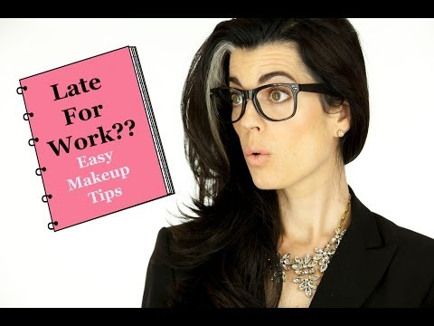 Late For Work Makeup | Get Ready in 10 Minutes