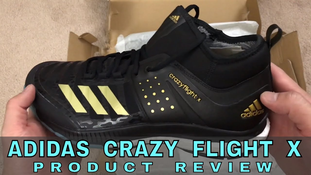 324750960f907 Adidas Crazy Flight X Volleyball Shoe Review - YouTube