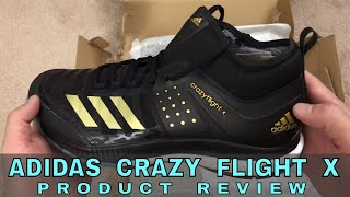 Adidas Crazy Flight X Volleyball Shoe Review