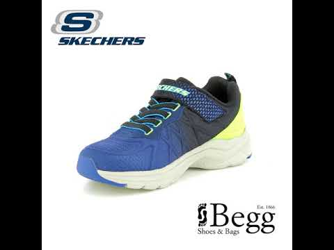 Skechers Ultrasonix 97541 NVBK Navy multi trainers