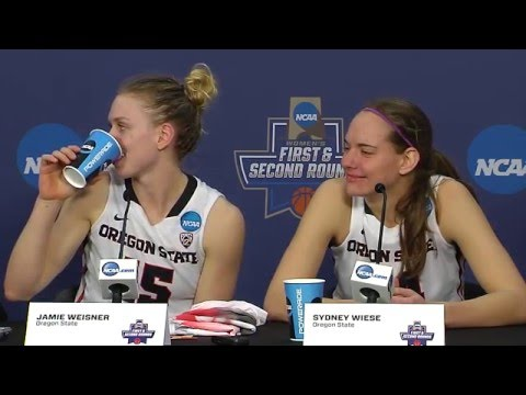 Oregon State WBB Postgame Press Conference vs St. Bonaventure 3/20/2016