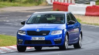 New Skoda Octavia RS 2013 - Nordschleife Test Trailer