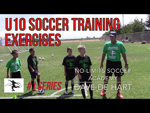 U10 Technical Training - Passing and Movement