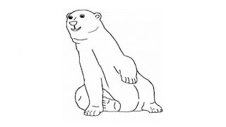 How to Draw a Polar Bear / Как нарисовать полярного медведя(Drawing Channel - https://www.youtube.com/channel/UCaZm6IvtL9zNeDwQi571asA/videos Канал для рисования ..., 2015-04-21T18:52:17.000Z)