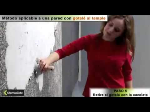 Quitar el gotel mp4 youtube - Como quitar el gotele ...
