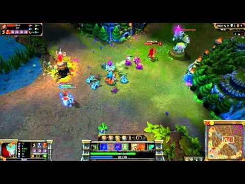 League of Legends 1v1 Shaco vs Katarina