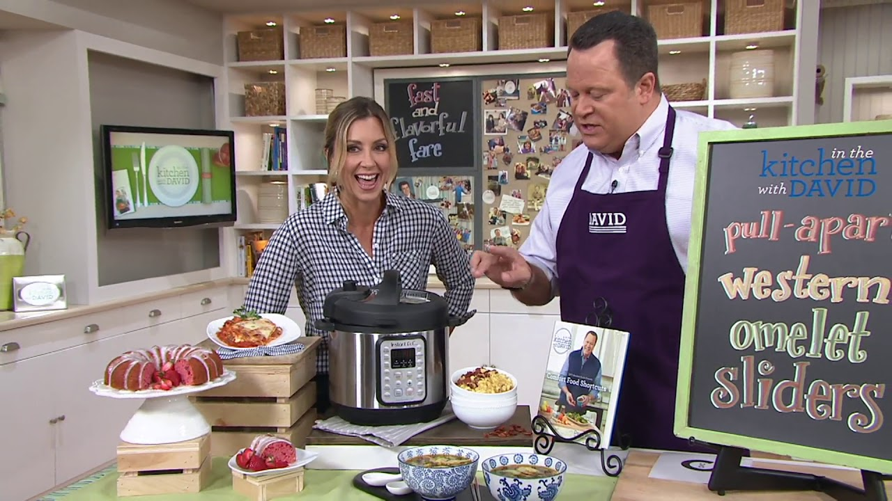 comfort food shortcuts an in the kitchen with david cookbook on qvc rh youtube com qvc in the kitchen with mary qvc in the kitchen with bob