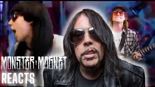 MONSTER MAGNET - Dave Wyndorf Reacts To Table Scraps' Motorcycle (Straight To Hell) | Napalm Records