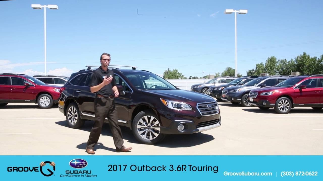 2017 subaru outback 3 6r touring walkaround and review youtube. Black Bedroom Furniture Sets. Home Design Ideas