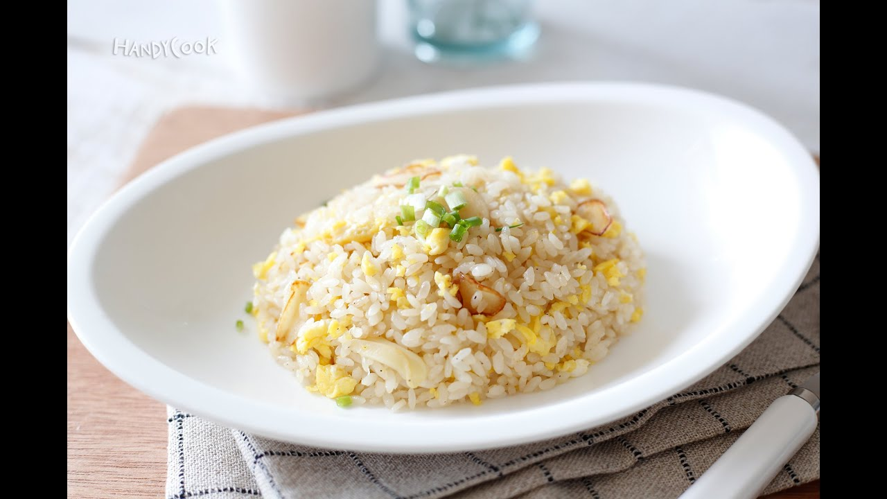 Garlic and egg fried rice koreanfood recipe garlic and egg fried rice koreanfood recipeeng ver ccuart Image collections