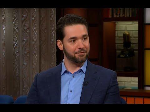 Reddit Founder Talking Crypto On Stephen Colbert Show