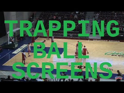 Discover Tad Boyle's Ball Screen Trapping Philosophy! - Basketball 2016 #57