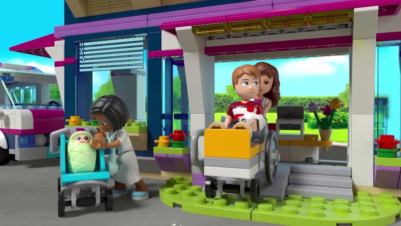 Heartlake Ziekenhuis Lego Friends 41318 Dut Youtube