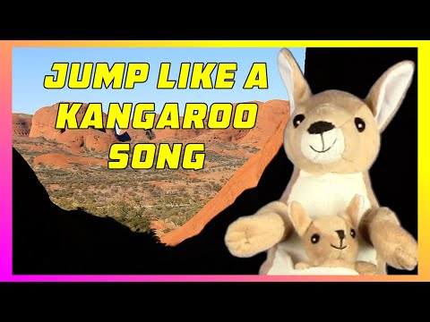 JUMP LIKE A KANGAROO   Preschool, Kindergarten Movement Song