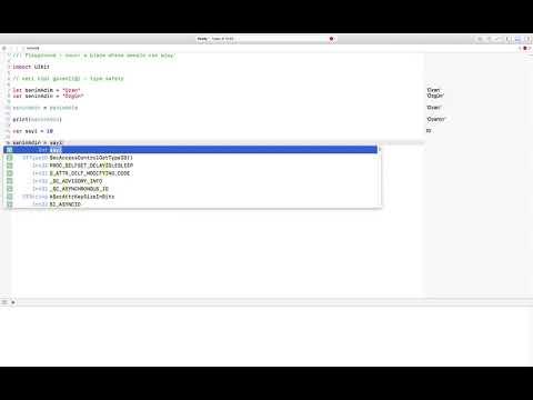 Ders 7. Swift - Veri tipi güvenliği (type safety)