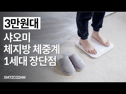 [3만원대] 샤오미 체지방 체중계 1세대 장단점