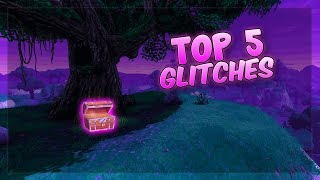 FORTNITE GLITCHES: 5 BEST FORTNITE GLITCHES! *WORKING* FORTNITE GLITCHES & SPOTS