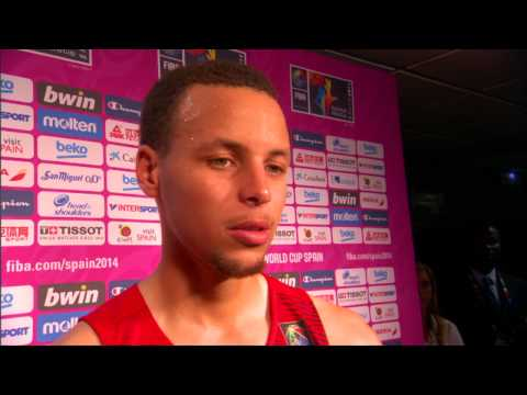 Steph Curry on Team USA