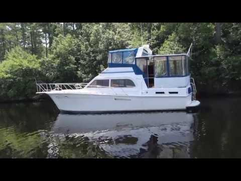 Egg Harbor 43 Motor Yacht 1987  YES INDEEDY