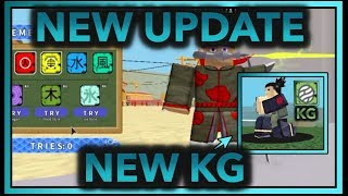 NEW NARA KG!| [032] NEW UPDATE SPINNING FOR SHADOW KG!! | ROBLOX Naruto RPG: Beyond |