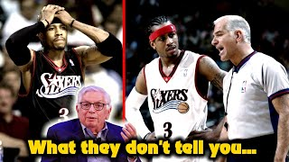 The Untold Beef Between Allen Iverson vs. the NBA