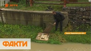 Хаотические застройки и канализация в реку: кто загрязняет Карпаты