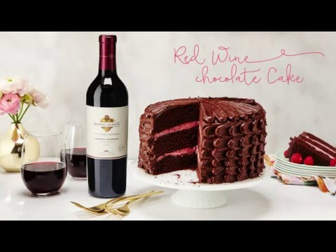 Kendall Jackson Red Wine Chocolate Cake Recipe Youtube
