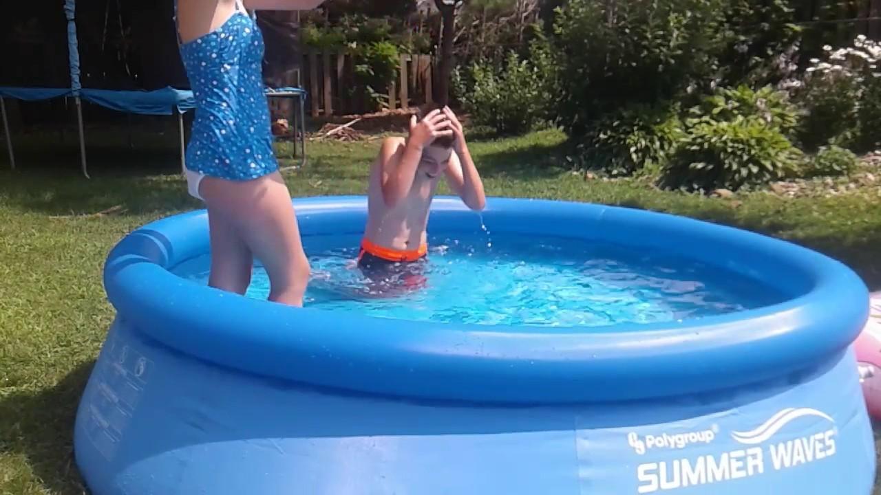 Mini Pool Challenges VLOG!