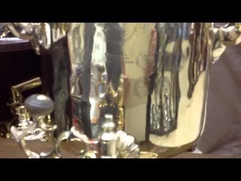 В Ростове-на-Дону спасают старинные самовары - YouTube